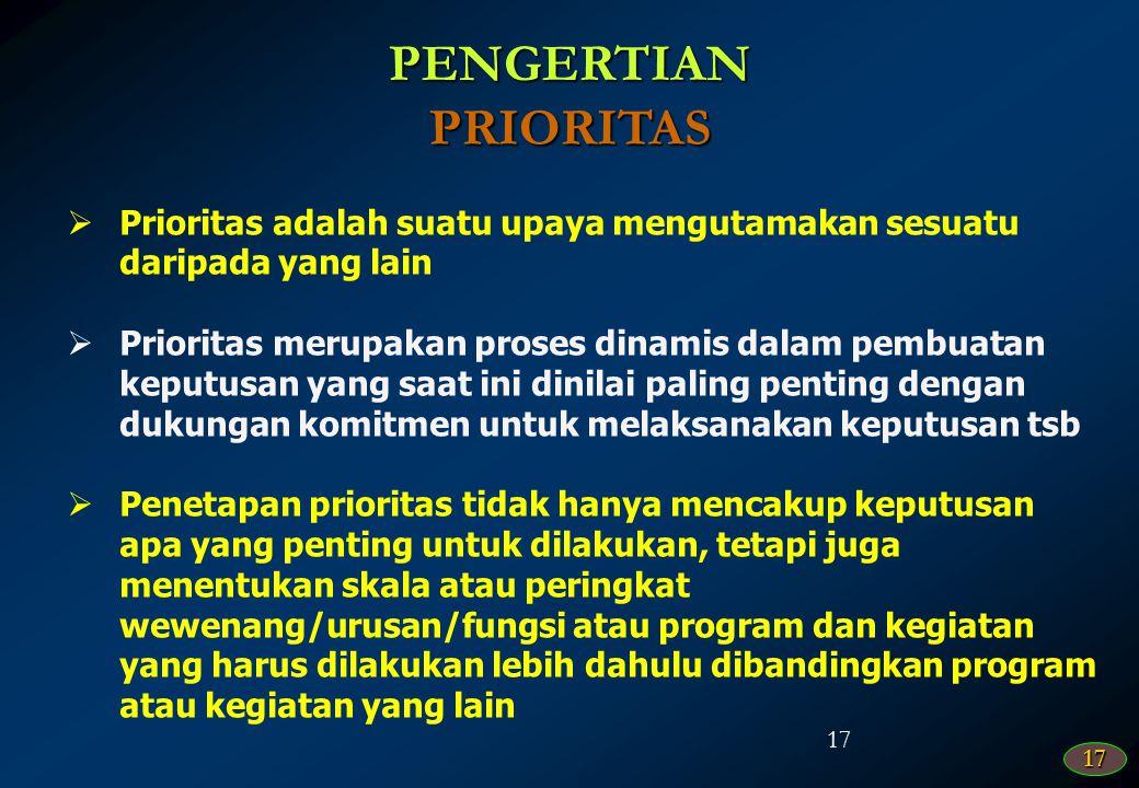 16 16PENGERTIAN PRIORITAS DAN PLAFON ANGGARAN SEMENTARA (PPAS) PROGRAM PRIORITAS DAN PATOKAN BATAS MAKSIMAL ANGGARAN YANG DIBERIKAN KEPADA SKPD UNTUK