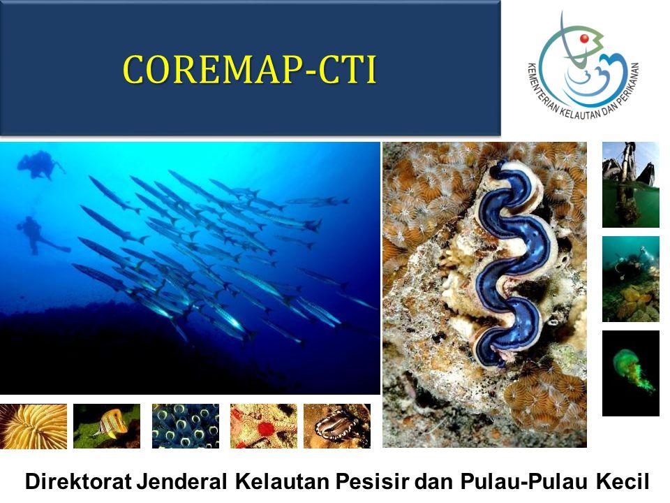 COREMAP-CTICOREMAP-CTI Direktorat Jenderal Kelautan Pesisir dan Pulau-Pulau Kecil