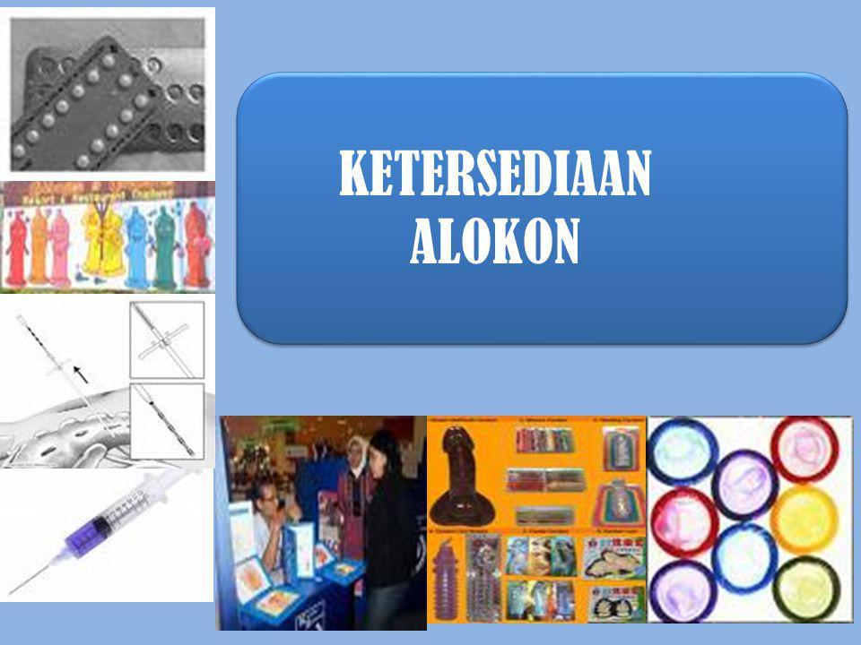KETERSEDIAAN ALOKON 30