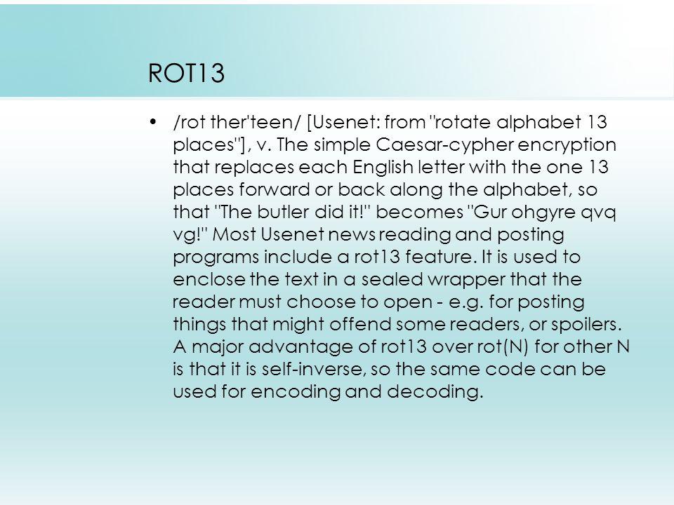 Kunci ROT13