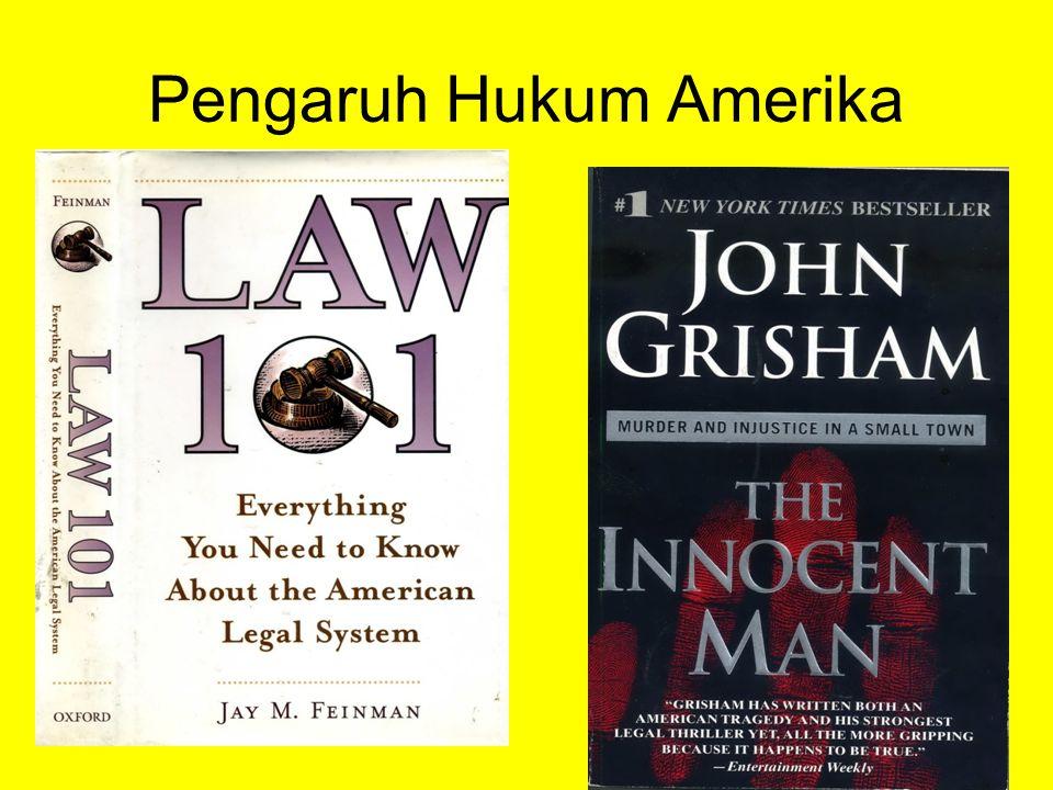 Pengaruh Hukum Amerika