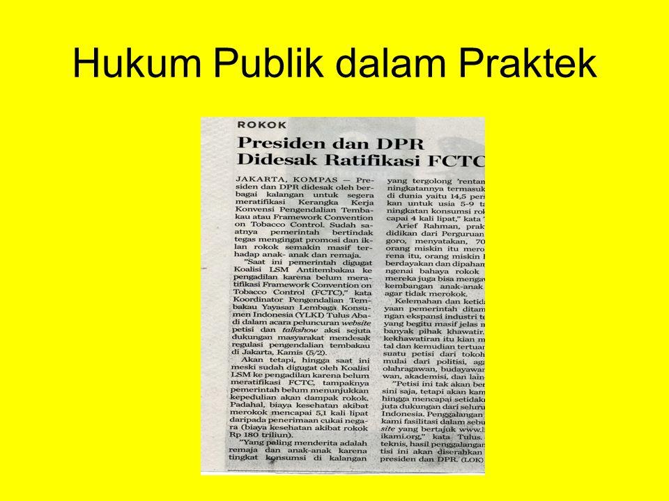 Hukum Publik dalam Praktek