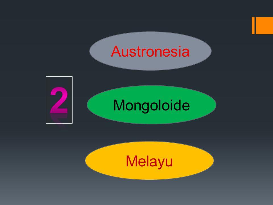 Austronesia Mongoloide Melayu
