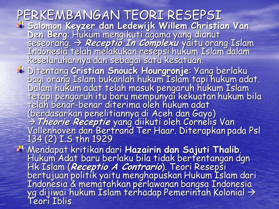 Masa Persiapan & Sesudah Kemerdekaan Piagam Jakarta (22 Juni 1945) diterima BPUPKI sbg Pembukaan UUD  Negara berdsrkan kepada Ketuhanan, dengan kewajiban menjalankan syariat Islam bagi pemeluk-pemeluknya .