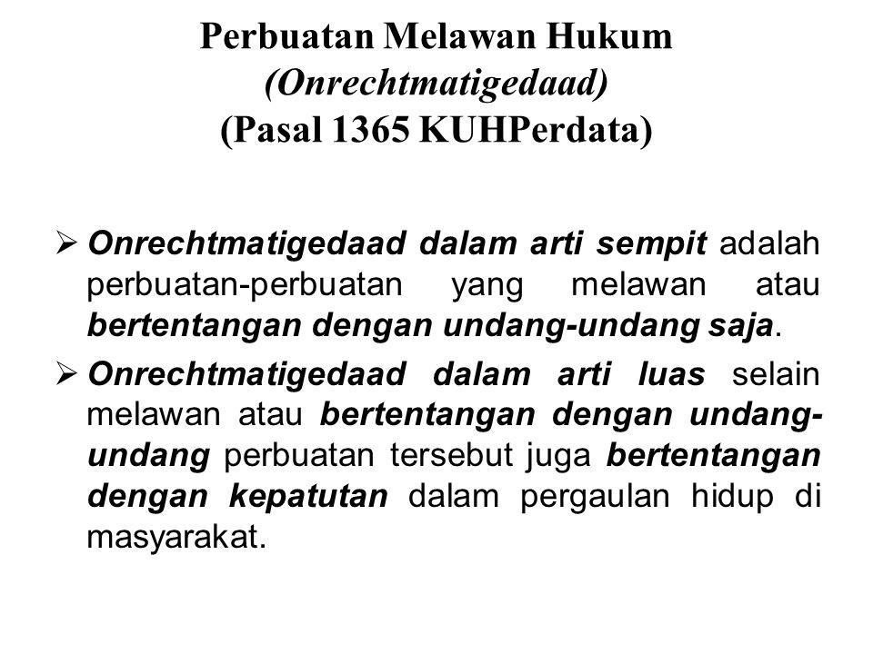 Akibat Yang Timbul Dari Perjanjian (Pasal 1338 KUHPerdata) 1.Semua perjanjian yang dibuat secara sah berlaku sebagai undang-undang bagi mereka yang me
