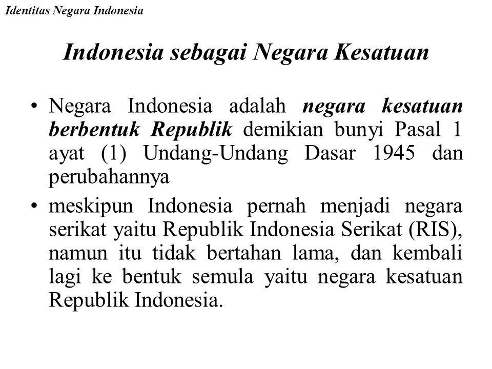 Indonesia sebagai Negara Demokrasi Pasal 1 ayat (2) Undang-Undang Dasar 1945 dan perubahannya menyatakan bahwa Kedaulatan berada di tangan rakyat dan