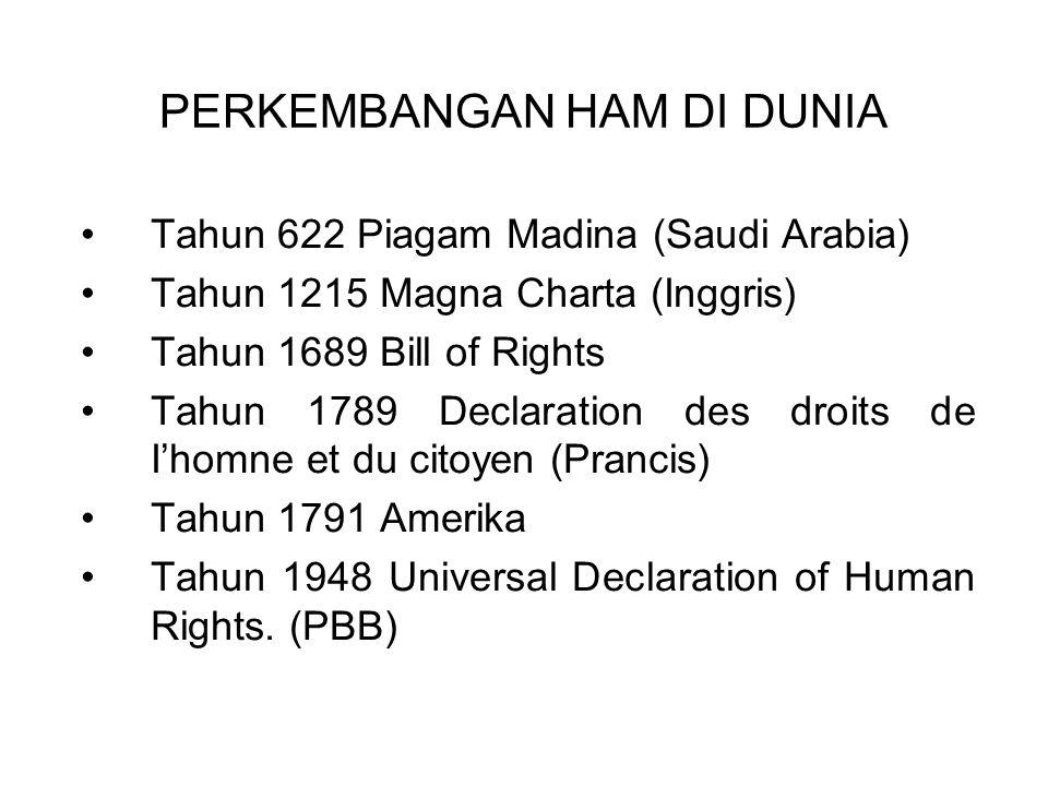 Hak Asasi Manusia adalah hak dasar pemberian Tuhan dan dimiliki oleh setiap manusia selama hidup dan sesudahnya, bukan merupakan pemberian dari negara