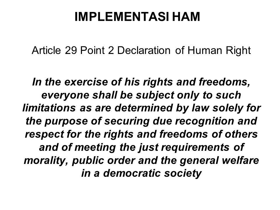 Beberapa Undang-Undang Tentang Pengesahan Konvensi HAM 1.UU No. 7 Th. 1984 tentang Pengesahan Konvensi Mengenai Penghapusan Segala Bentuk Diskriminasi