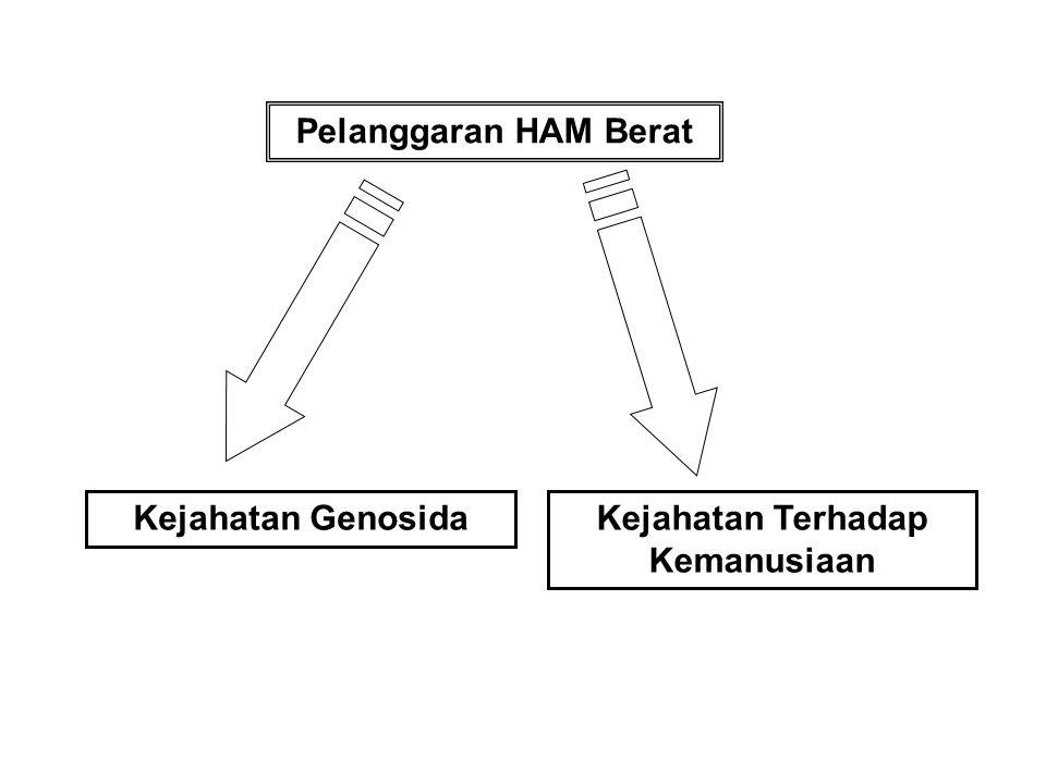 Memeriksa dan memutus perkara pelanggaran hak asasi manusia yang berat Tugas dan Wewenang Pengadilan HAM Dilakukan oleh Warga Negara Indonesia di Wila