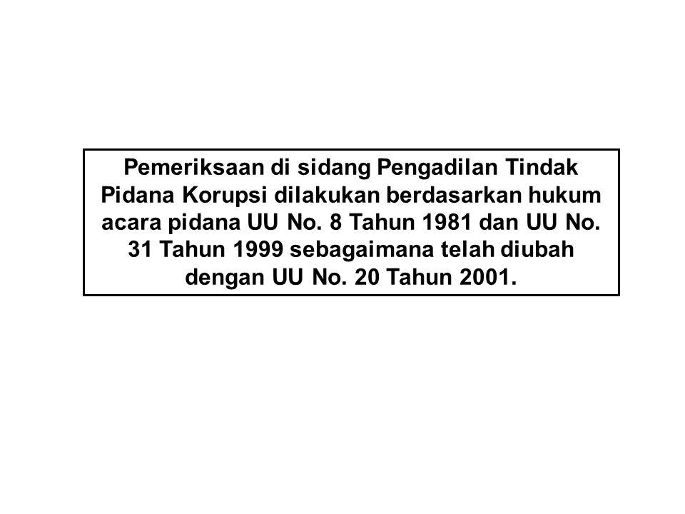 Hakim Ad Hoc Pengadilan Tindak Pidana Korupsi Untuk pertama kali diangkat dengan Keputusan Presiden Nomor 111/M/2004 tentang Pengangkatan Hakim Ad Hoc