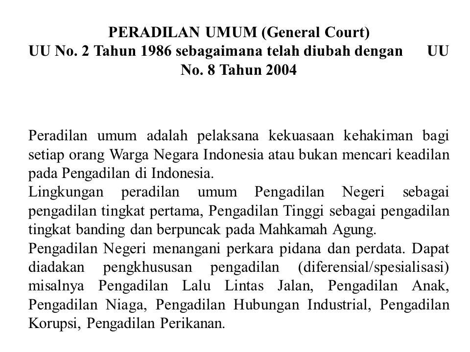 Mulai tahun 2005 rekrutmen Hakim Agung dilakukan oleh sebuah Komisi Yudisial yang berwenang mengusulkan pengangkatan hakim agung, melalui sebuah prose
