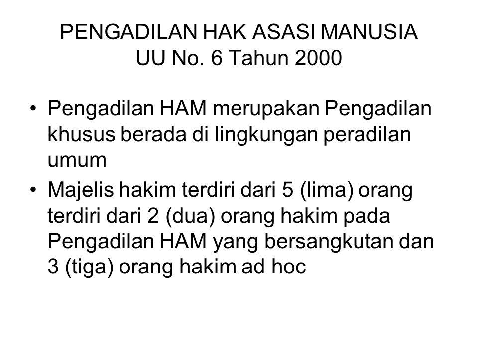 PENGADILAN NIAGA UU No. 1/Prp/1998 Pengadilan Niaga termasuk di dalam lingkungan Peradilan Umum Pengadilan Niaga pada mulanya berkenaan dengan persoal