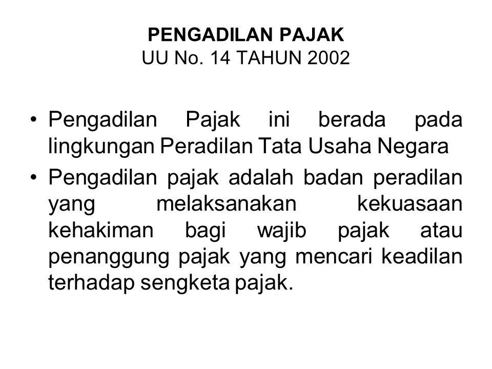 PENGADILAN PERIKANAN UU No. 31 TAHUN 2004 Pengadilan Perikanan berada di lingkungan Peradilan Umum Pengadilan Perikanan berwenang memeriksa, mengadili