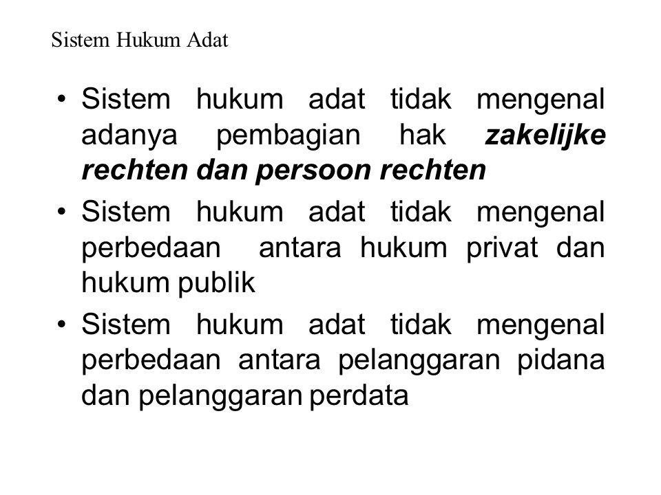 Dalam seminar mengenai hukum adat pada tahun 1975 dikatakan bahwa hukum adat merupakan hukum Indonesia asli yang tidak tertulis dalam bentuk perundang