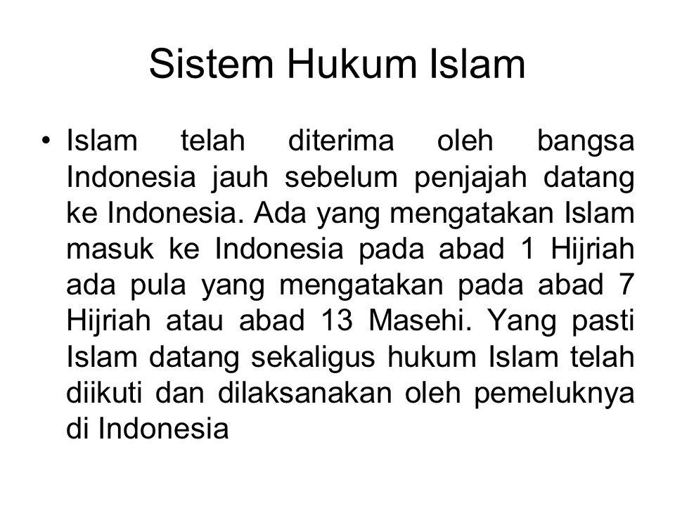 Berdasarkan Sumber Hukum Adat, Sistem Hukum Adat Di Indonesia Dibagi tiga Hukum Adat mengenai Tatanegara (tata susunan rakyat), mengatur tentang susun