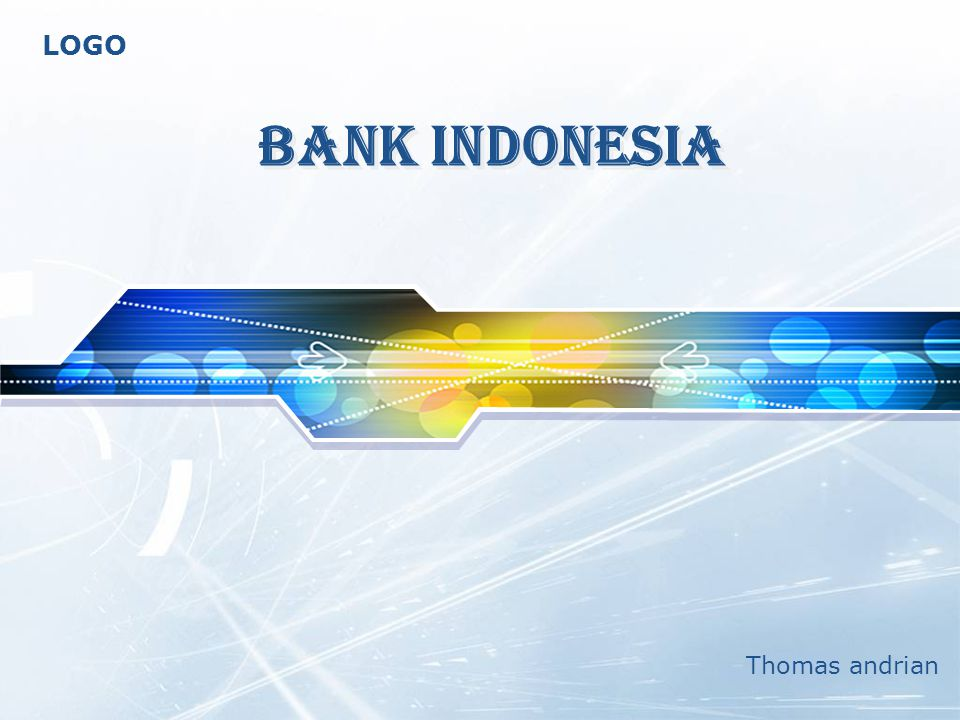 LOGO BANK INDONESIA Thomas andrian