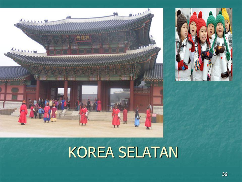 39 KOREA SELATAN