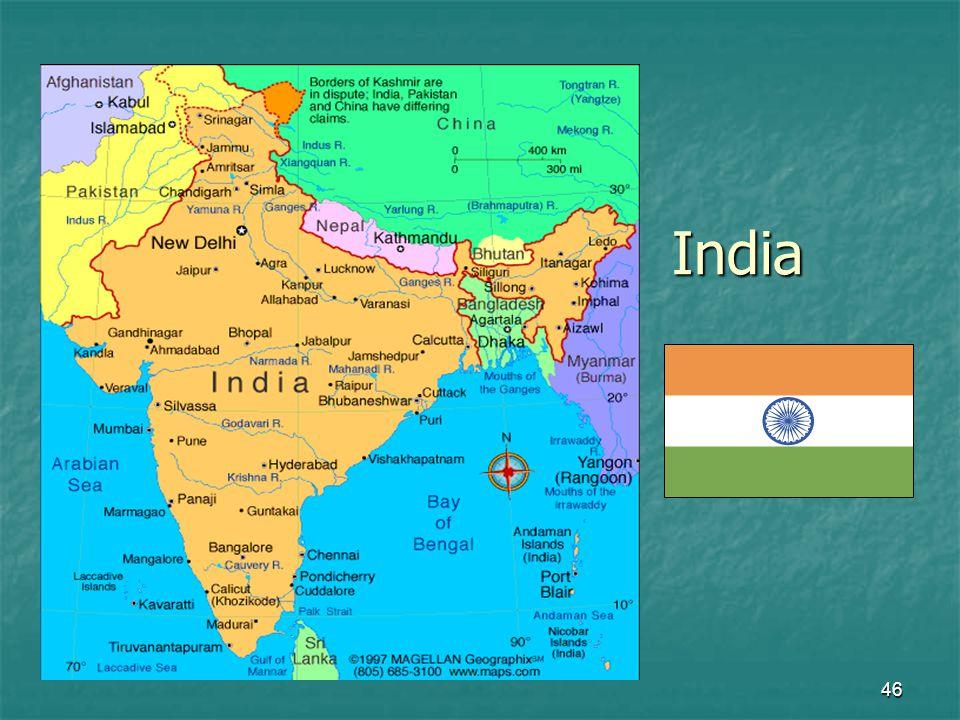 46 India