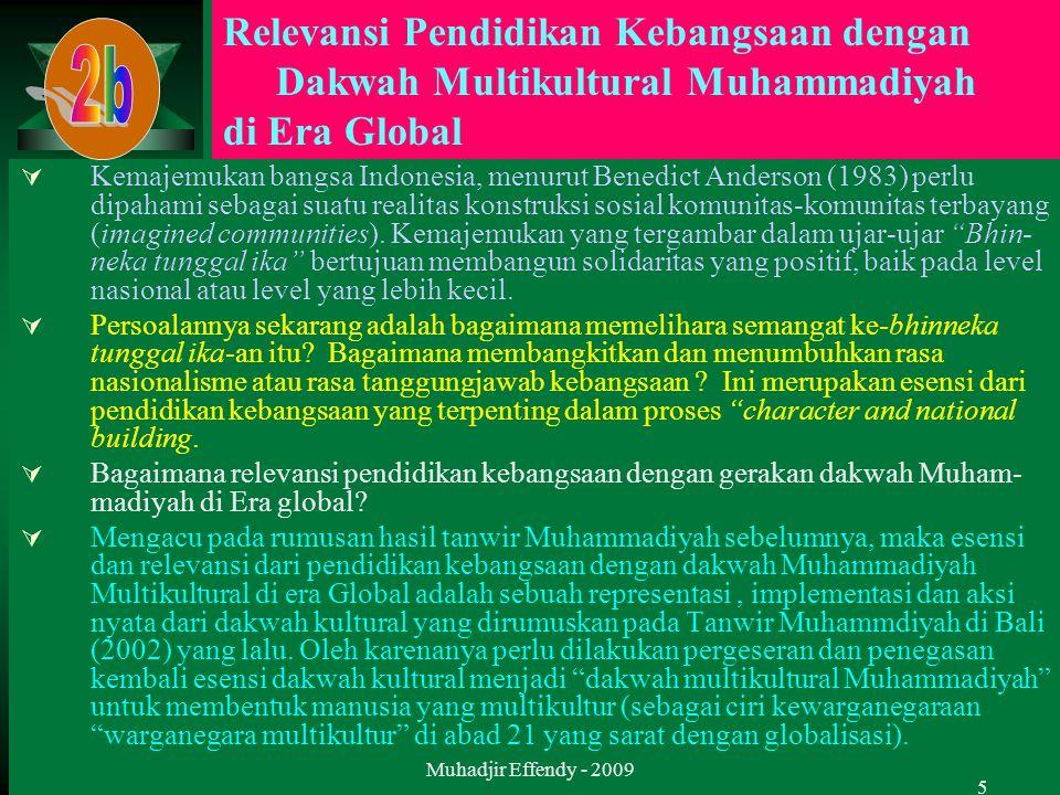 5  Kemajemukan bangsa Indonesia, menurut Benedict Anderson (1983) perlu dipahami sebagai suatu realitas konstruksi sosial komunitas-komunitas terbaya