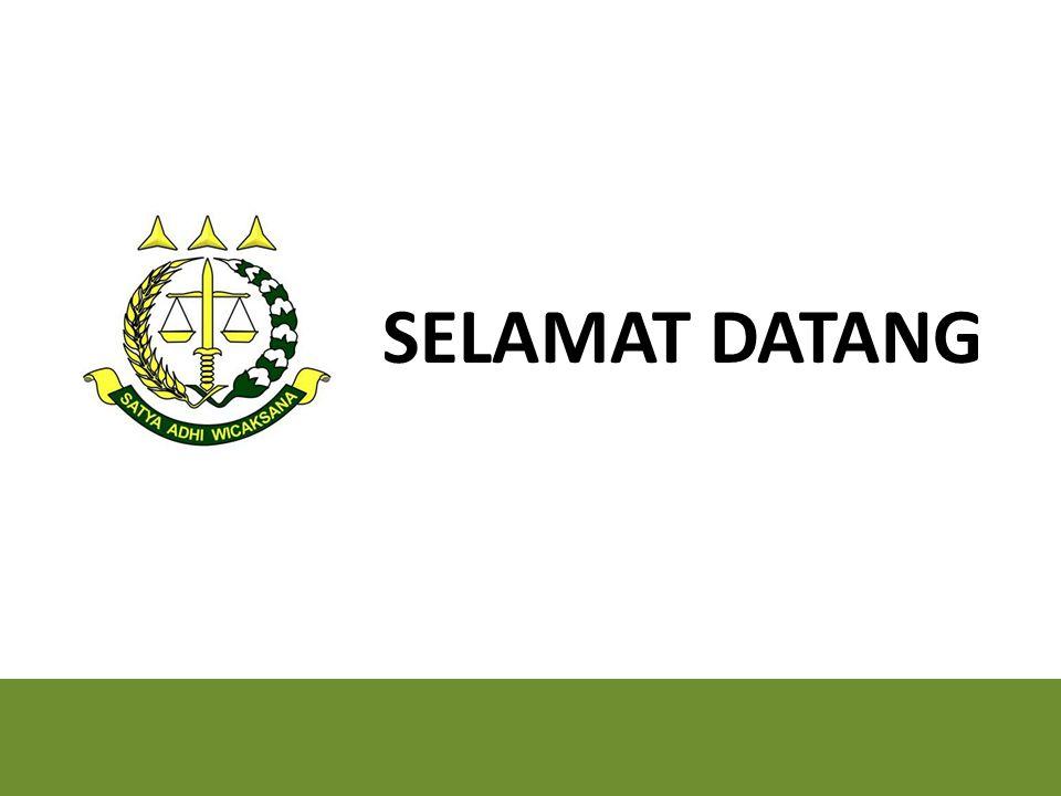 PUSAT PENERANGAN HUKUM KEJAKSAAN AGUNG REPUBLIK INDONESIA www.kejaksaan.go.id