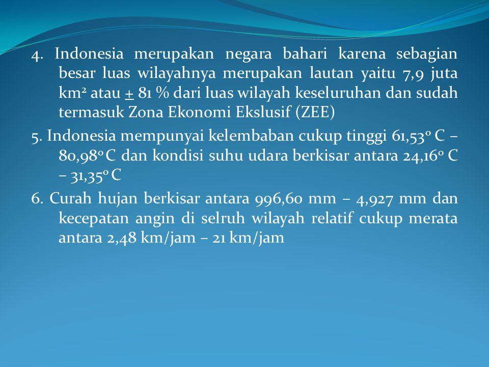 1. Secara geografis Indonesia terletak antara : a.