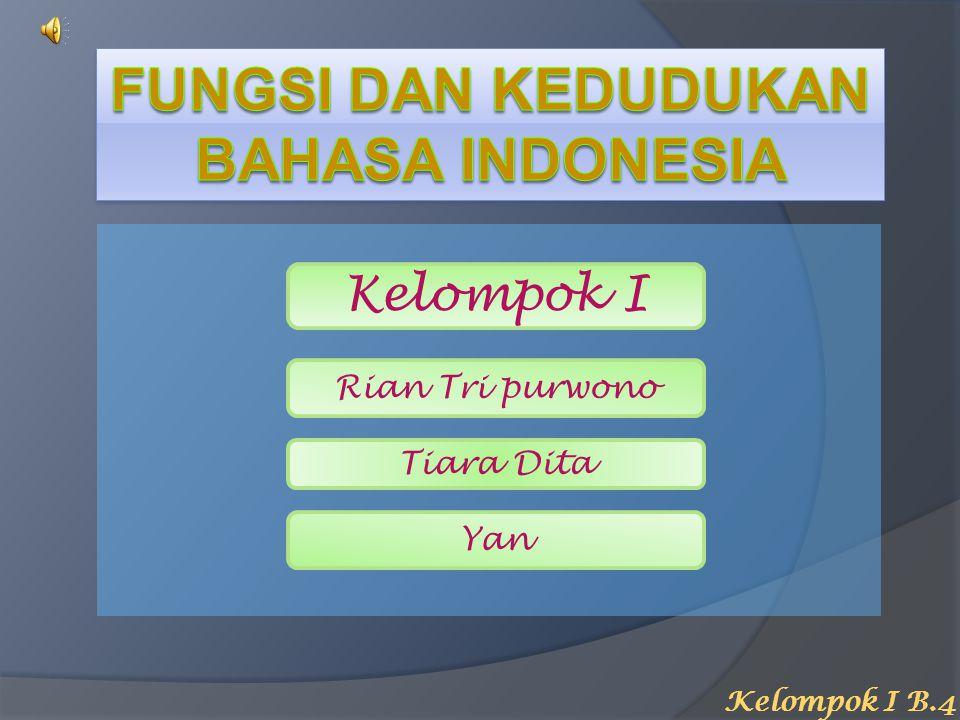 Selamat Datang Presentasi Makalah Bahasa Indonesia