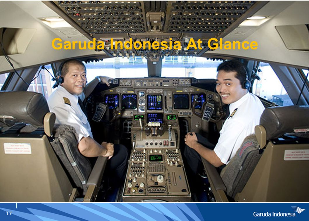 17 Garuda Indonesia At Glance