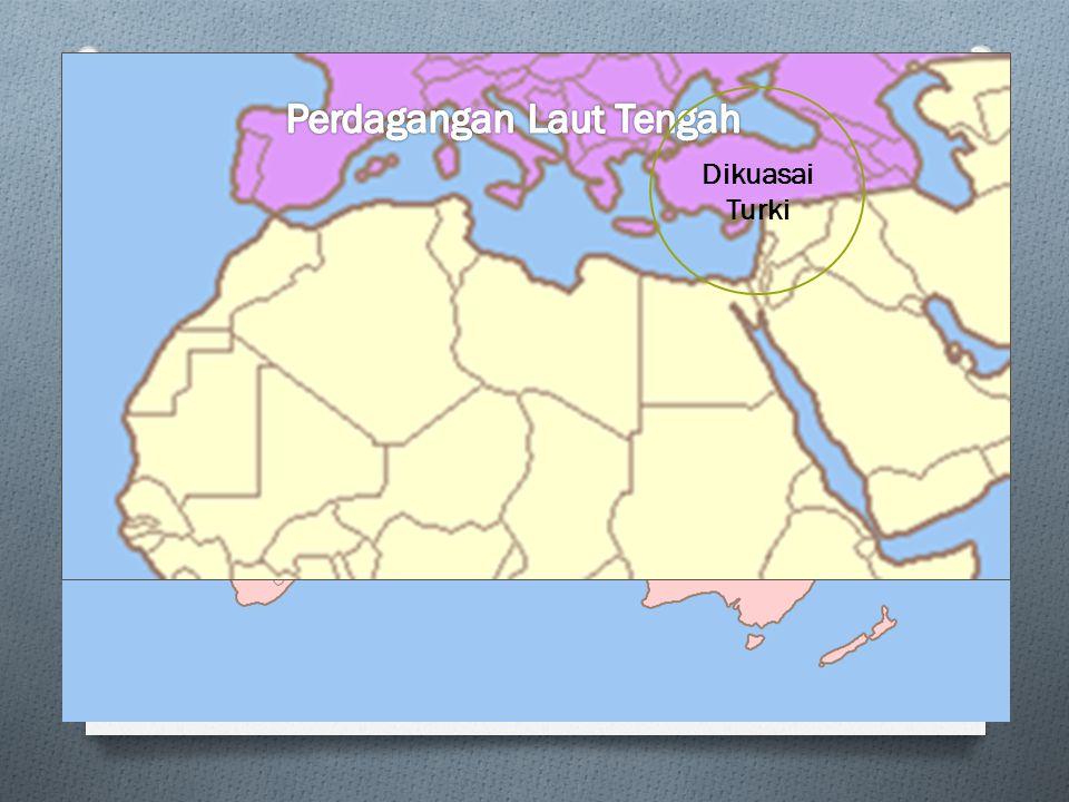 Terkait hal-hal tersebut, maka pusat-pusat perdagangan dan pelayaran di kawasan Laut Tengah ternyata mempunyai peranan yang sangat penting, karena beberapa hal berikut.