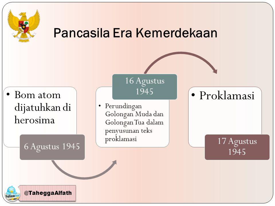 Pancasila sebagai dasar negara, Pancasila pun menjadi sumber hukum yang ditetapkan dalam Ketetapan MPR Nomor III/MPR/2000 Pasal 1 Ayat (3) yang menyebutkan, Sumber hukum dasar nasional adalah Pancasila sebagaimana yang tertulis dalam Pembukaan Undang- Undang Dasar 1945, yaitu Ketuhanan Yang Maha Esa, Kemanusiaan yang adil dan beradab, Persatuan Indonesia, dan Kerakyatan yang dipimpin oleh hikmat kebijaksanaan dalam permusyawaratan/perwakilan, serta dengan mewujudkan suatu Keadilan sosial bagi seluruh Rakyat Indonesia, dan batang tubuh Undang-Undang Dasar 1945 .