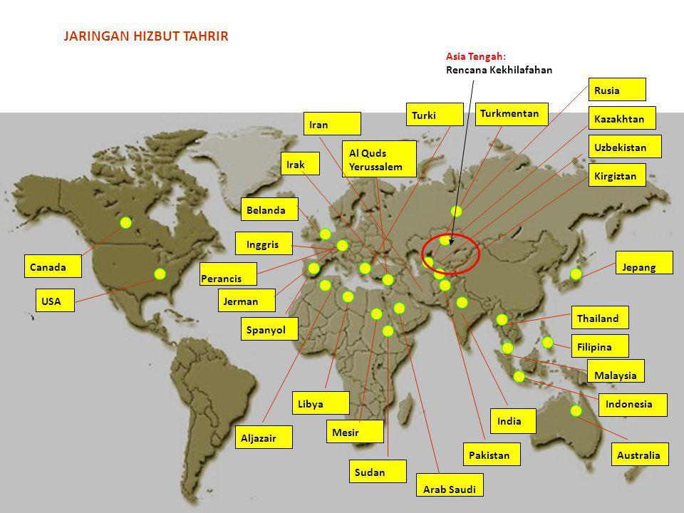 Canada USA Irak Belanda Inggris Perancis Jerman Spanyol Aljazair Libya Mesir Sudan India Arab Saudi Indonesia Pakistan Malaysia Australia Filipina Tha