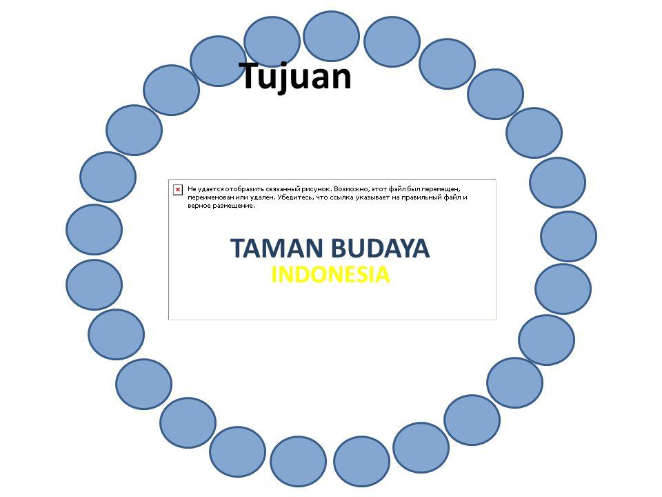 TAMAN BUDAYA INDONESIA