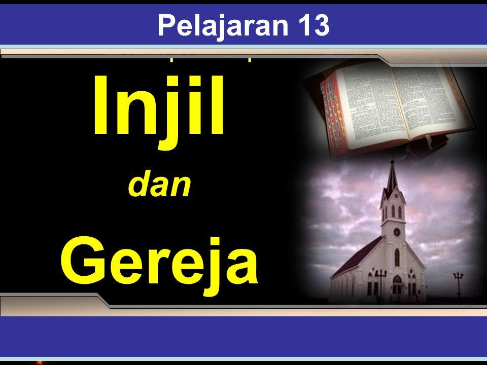 Kata-kata Pembuka Allah telah menugaskan gereja sebagai agen transformasi- Nya di atas bumi