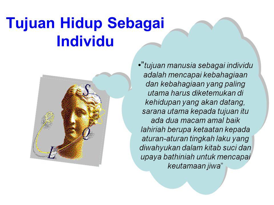Hakekat manusia Sebagai Makhluk Indiv idu Manusia sebagai makhluk individu mengandung arti bahwa unsur yang ada dalam diri individu tidak terbagi, mer