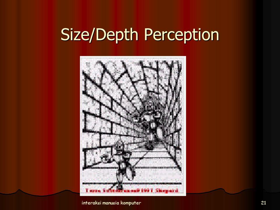 Size/Depth Perception interaksi manusia komputer21
