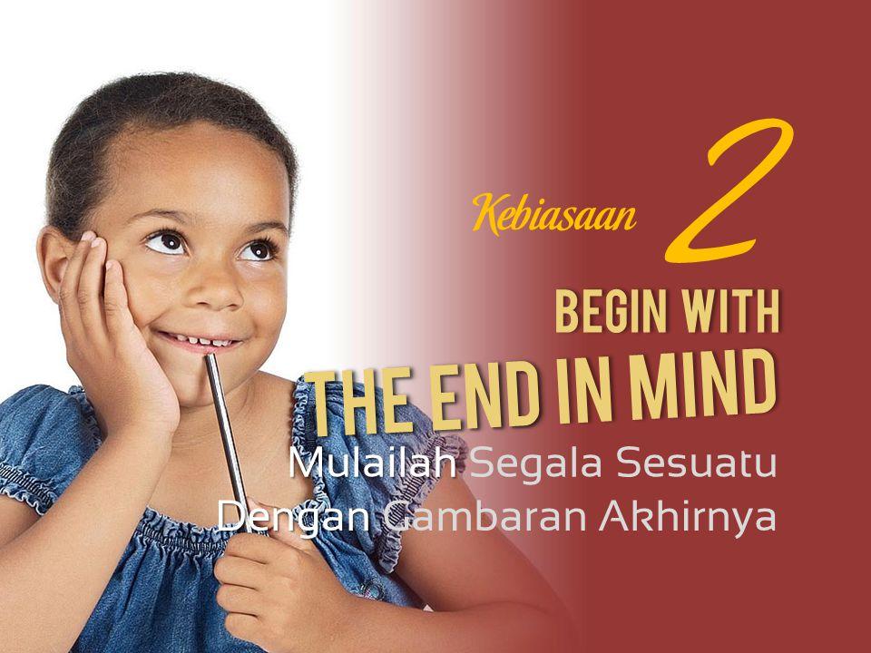 Begin With Mulailah Mulailah Segala Sesuatu Dengan Dengan Gambaran Akhirnya 2 The End The End In Mind Kebiasaan