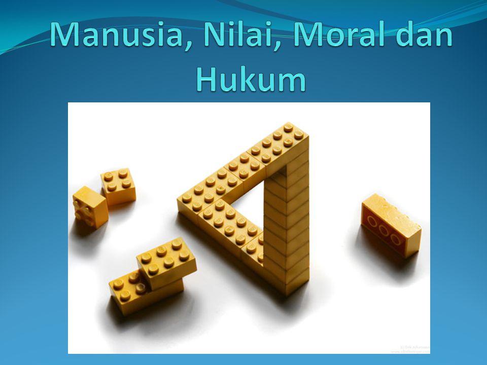 Hakikat, Fungsi dan Perwujudan Nilai, Moral dan Hukum Hakikat Nilai  Nilai masuk dalam kawasan Etika dan Estetika Ada 3 jenis makna Etika (K.