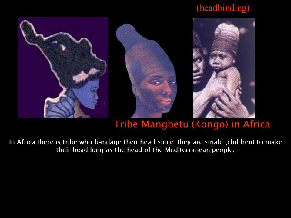 Ka'bah = mata-kaki letaknya di sana: Di Afrika ada sekelompok suku yang membalut kepalanya sejak kecil agar jadi panjang seperti kepala Manusia Medite