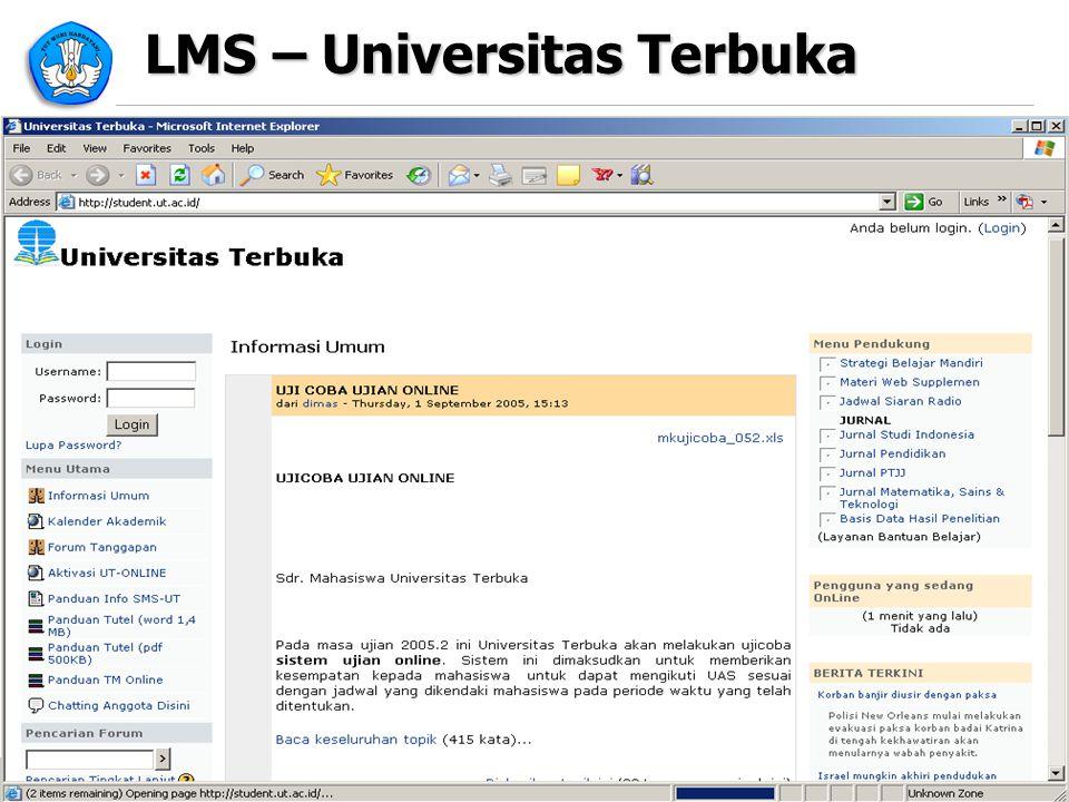 LMS – Universitas Terbuka 19