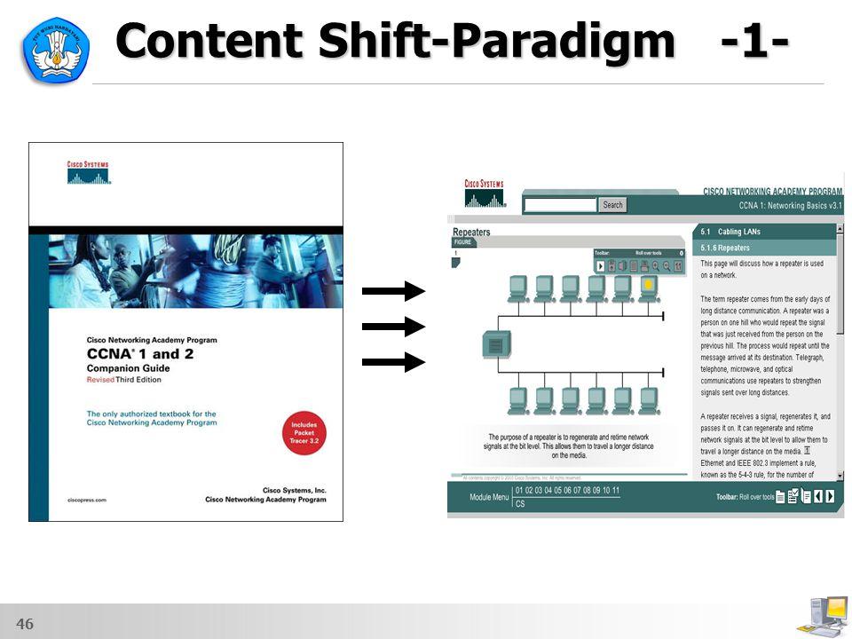 46 Content Shift-Paradigm -1-