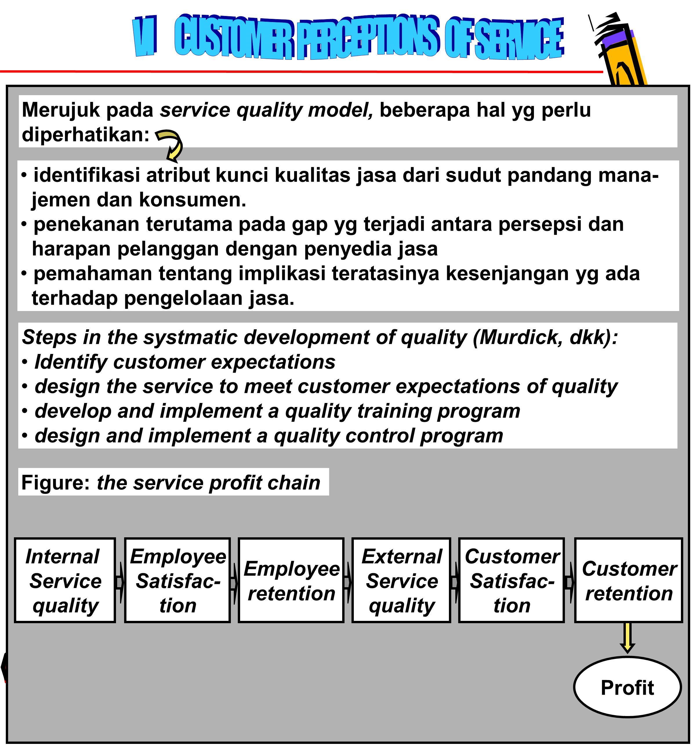 79 identifikasi atribut kunci kualitas jasa dari sudut pandang mana- jemen dan konsumen.