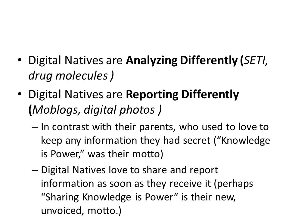 digital nation analysis