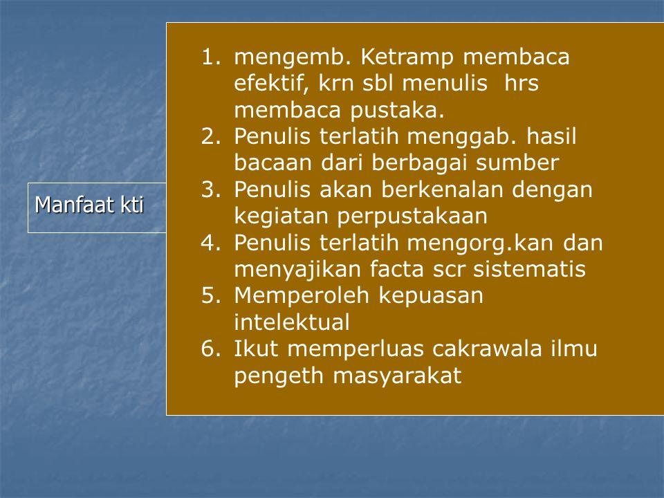 Tiga aspek dlm penyusunan KTI 1.Asp.substansial (isi) 2.