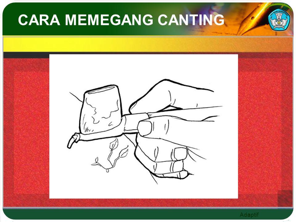 Adaptif CARA MEMEGANG CANTING