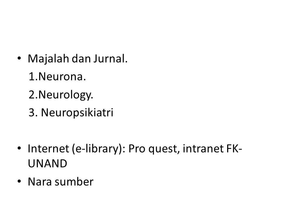 Majalah dan Jurnal.1.Neurona. 2.Neurology. 3.