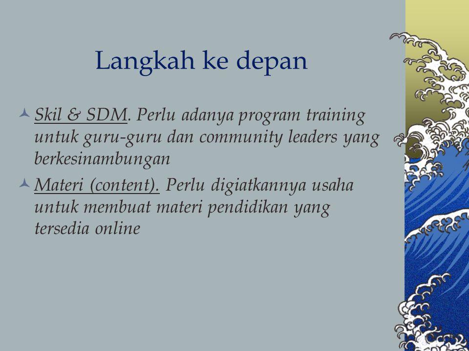 Langkah ke depan Skil & SDM.