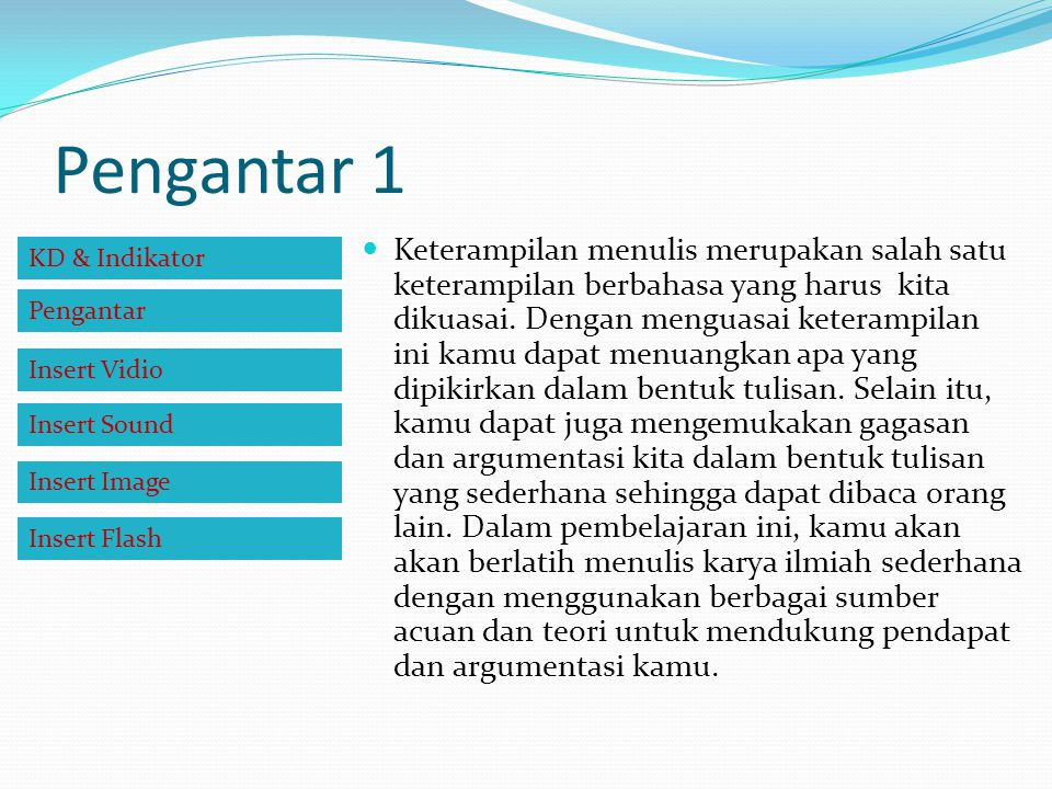 Langkah Menyusun Sistematika Langkah-langkah penyusunan kerangka KTI: 1.