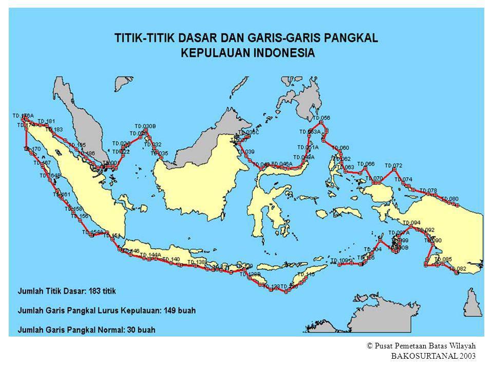© Pusat Pemetaan Batas Wilayah BAKOSURTANAL 2003