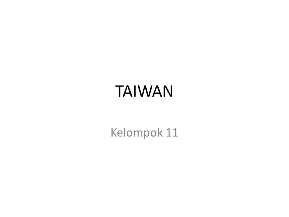 TAIWAN Kelompok 11