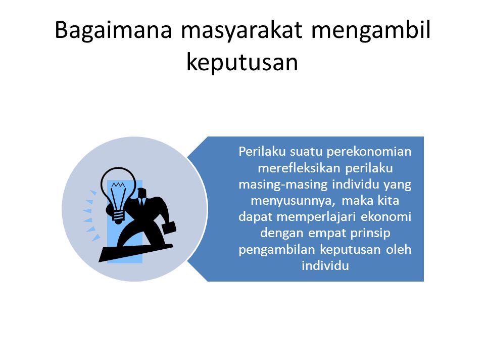 Ekonomi Mikro dan Ekonomi Makro uEkonomi Mikro memfokuskan atas individu dalam perekonomian.