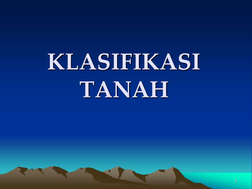 1 KLASIFIKASI TANAH